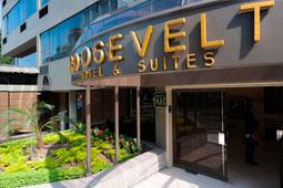 Entrada Hotel Roosevelt, San Isidro Lima