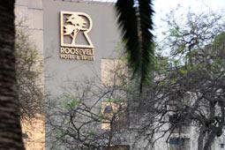 Hotel Roosevelt, Parque Roosevelt, San Isidro, Lima.