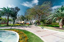 Parque Roosevelt, San Isidro, Lima.