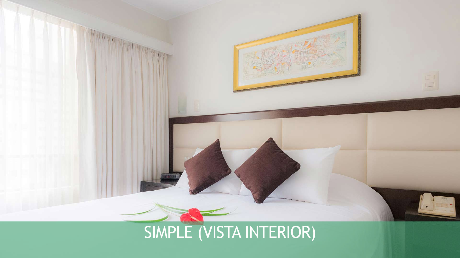 Simple Vista interior Hotel Roosevelt & Suites