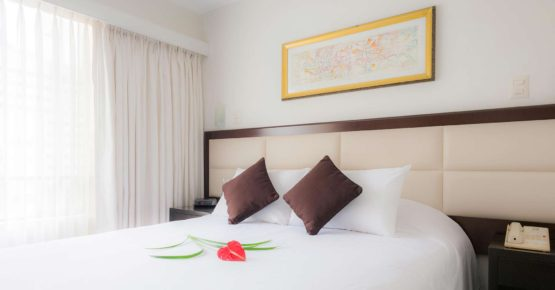 Vista interior, Roosevelt Hotel & Suites, San Isidro, Lima.