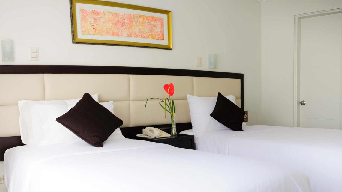 Habitación Doble Twin, Roosevelt Hotel & Suites, San Isidro, Lima.