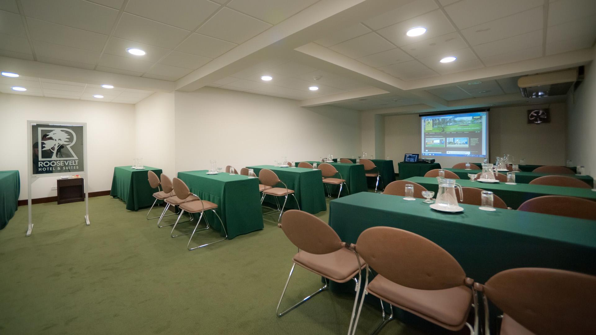 Eventos y conferencias. Roosevelt Hotel, San Isidro,