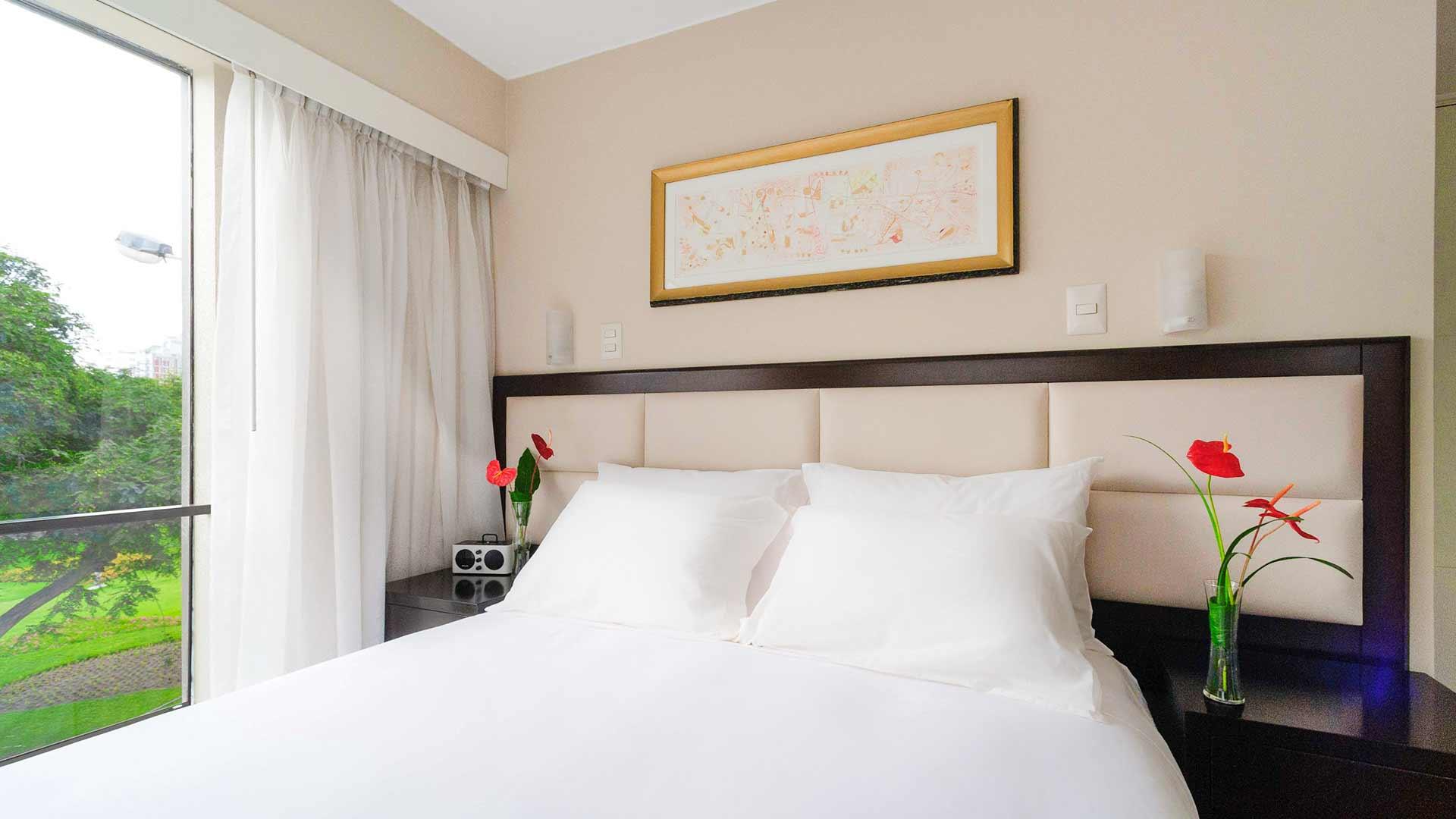 Vista al parque Roosevelt Hotel & Suites, San Isidro, lima